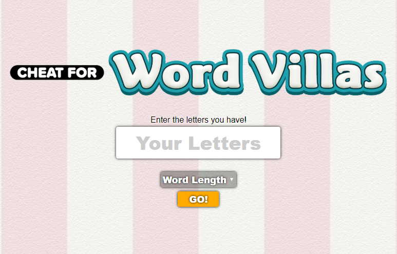 <small><small>Cheat for </small></small>Word Villas
